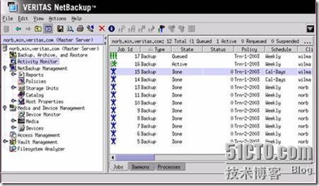 VERITAS NetBackup的备份和恢复(图形篇) - MICRO CORE - 天边云E家