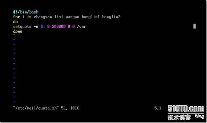 Sendmail简单配置(3) - 韩红林IT技术博客 - 51CTO技术博客 - bailkai - good luck guy
